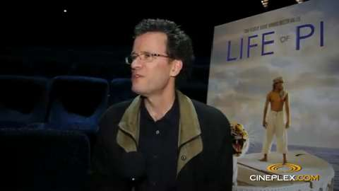 Yann Martel talks Life of Pi