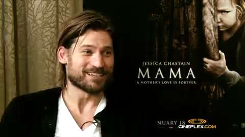 Nikolaj Coster-Waldau talks 'Mama'