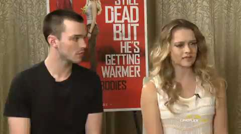 Warm Bodies interview
