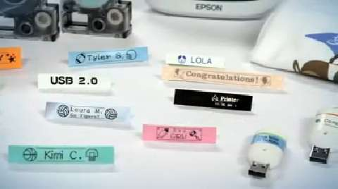 Epson LabelWorks: Tape Types