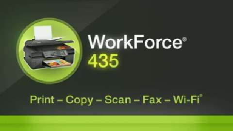 Epson WorkForce 435 All-in-One Printer Product Overview