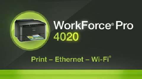 Epson WorkForce Pro 4020 Inkjet Printer Product Overview