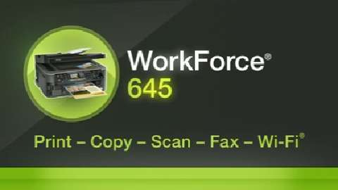 Epson WorkForce 645 All-in-One Printer Product Overview