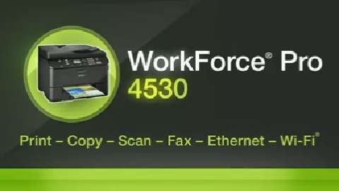 Epson WorkForce Pro 4530 All-in-One Printer Product Overview