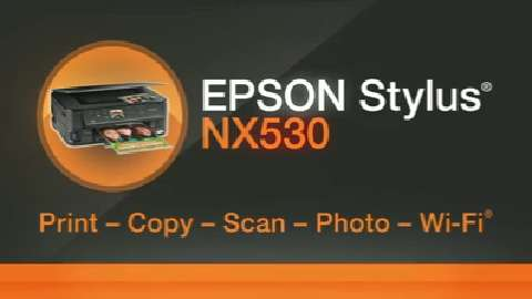 Epson Stylus NX530 All-in-One Printer Product Overview