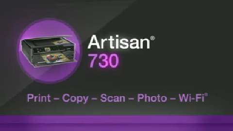 Epson Artisan 730 All-in-One Printer Product Overview