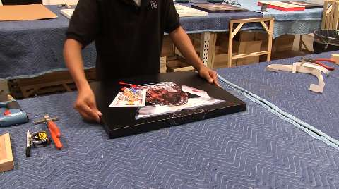 Epson Canvas Wrap Demonstration