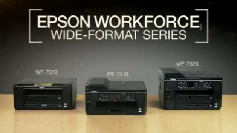 EPSON WorkForce Wide-Format Printers For Business