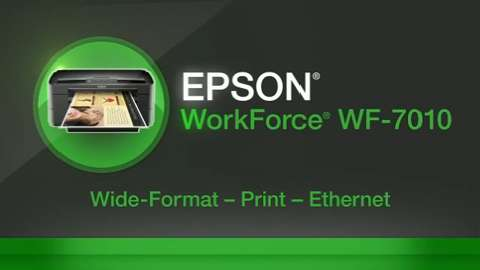 EPSON WorkForce 7010 Wide-Format Printer For Business