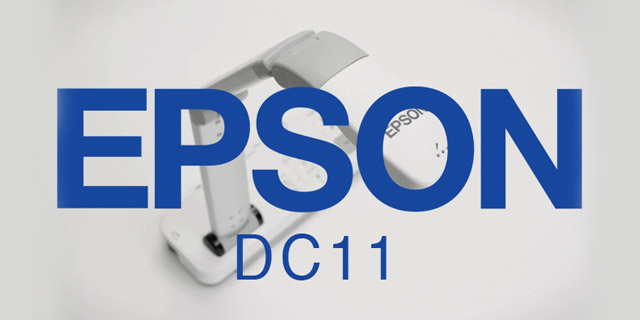 See the Epson DC-11 Document Camera in Action