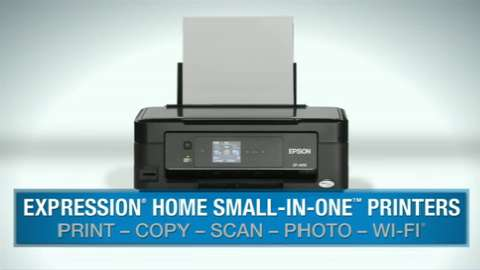 Epson Expression Home Small-in-One Inkjet Printers Overview