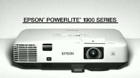 EPSON 1900 Projector Series Overview