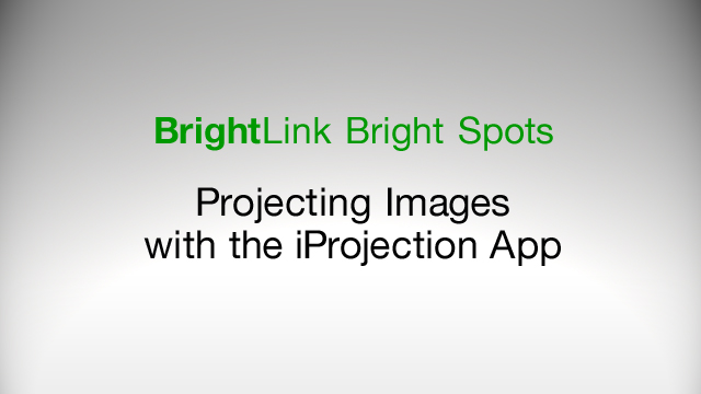How to Project Images Using the Epson iProjection App