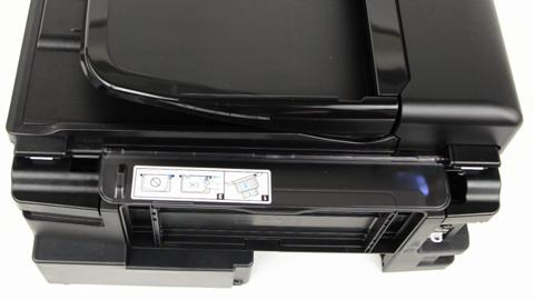 Reattaching the Printer Paper Support for WorkForce WF-2530 and WF-2540 Printers