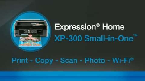 Epson Expression Home XP-300 Inkjet Printer for the Home