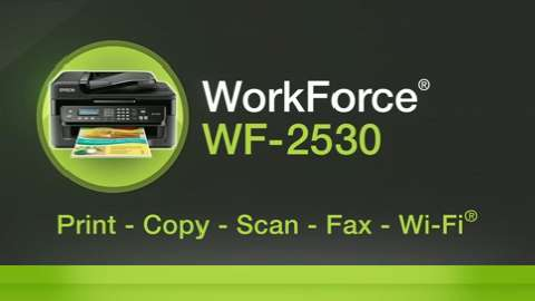 Epson WorkForce WF-2530 Inkjet Printer for Business