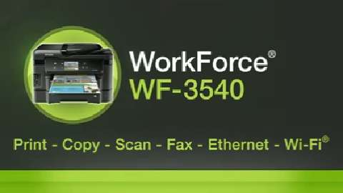 Epson WorkForce WF-3540 Inkjet Printer for Business