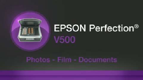 Epson Perfection V500 Photo Color Scanner Product Overview