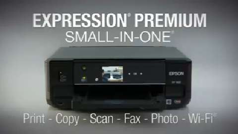 Epson Expression Premium All-In-One Inkjet Printers For The Home