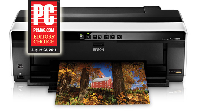 Epson Stylus Photo R2000 Inkjet Printer Overview