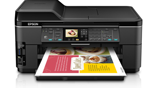 Epson WorkForce 7510 Wide-Format Printer For Business