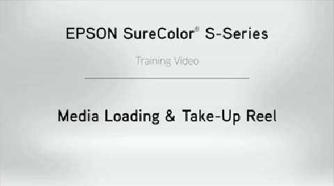 SureColor S-Series Media Handling