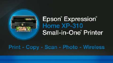 Expression Home XP-310 Product Tour