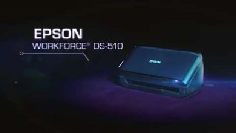 Epson Workforce DS-510 Color Document Scanner Overview