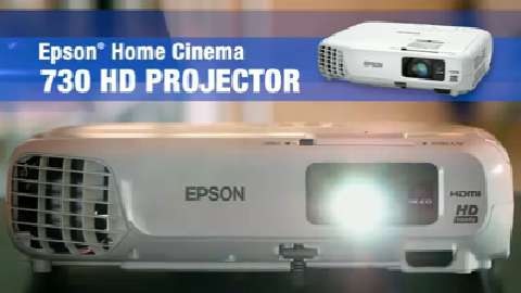 Epson Home Cinema 730HD Projector Overview