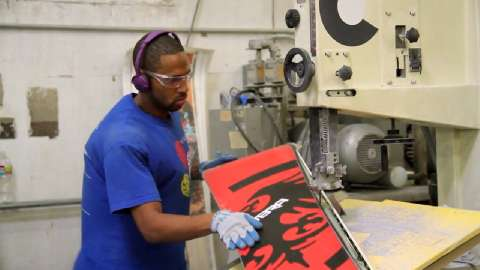 Creating High-Impact Snowboards and Skateboards with the Epson Surecolor F-Series Dye-Sublimation Printers