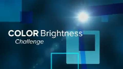 Attendees of NAB Take the 3LCD vs. 1-Chip DLP Color Brightness Challenge