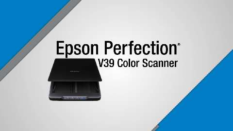 Epson Perfection V39 Scanner Product Tour