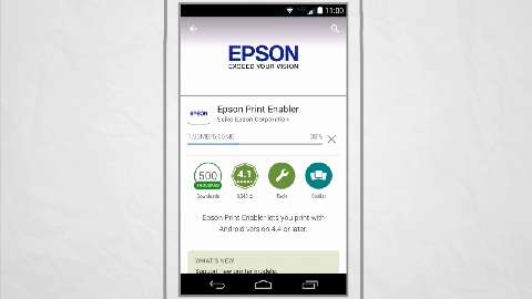 How to Print from an Android Phone or Tablet (Android v4.4 or later) using Epson Print Enabler