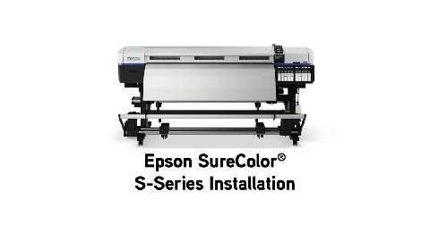 Setting up an Epson SureColor S-Series Printer