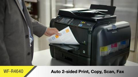 An Overview of the All-New WorkForce Pro WF-R4640 EcoTank All-in-One Printer