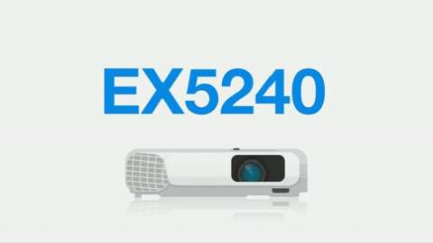 An Overview of the EX5240 XGA 3LCD Portable Projector