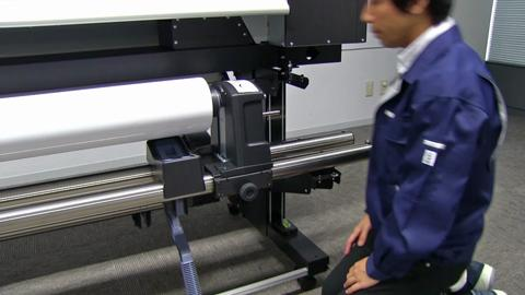How to load media on the SureColor S-Series Printer