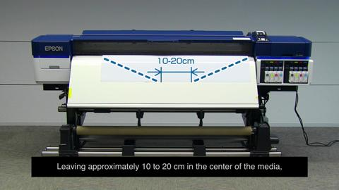 How to use the SureColor S-Series Auto Takeup System