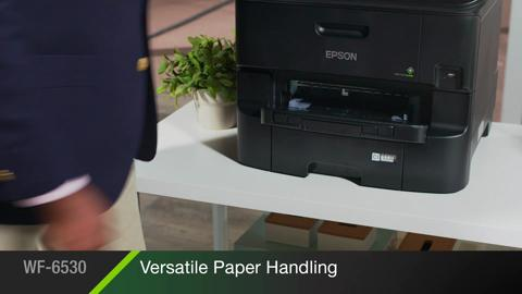 Watch an overview of all the amazing features of Epson's WorkForce Pro WF-6530