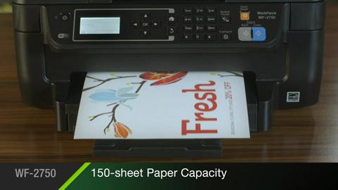 Watch all the great features of the Epson WorkForce WF-2750 All-in-One Printer
