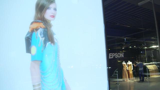 Epson at New York?s Fashion Week in 2016