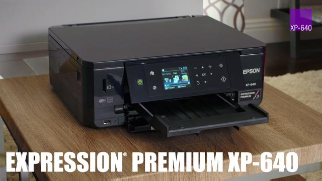 Watch the great features of the new Expression Premium XP-640 Small-in-One Printer
