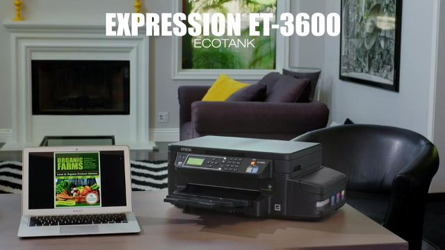 Introducing the new Expression ET-3600 EcoTank All-in-One Supertank Printer