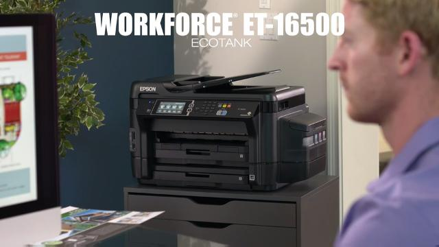 Introducing the new WorkForce ET-16500 EcoTank Wide-format All-in-One Supertank Printer