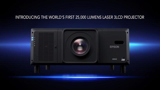 Epson Pro L25000UNL Laser 3LCD Projector with 4K Enhancement Overview