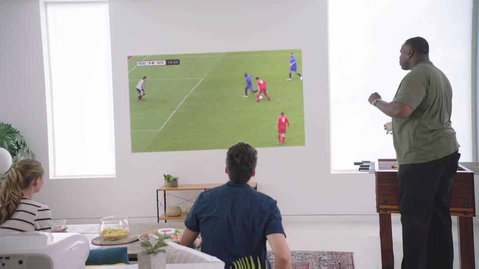 Epson Projectors - The Ultimate Viewing Experience for Sporting Events