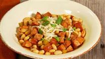 Smoked Sausage White Bean Chili