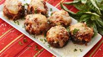 Lasagna-Stuffed Mushrooms