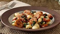 Smoked Sausage Gnocchi with Sun-Dried Tomatoes