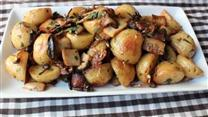 Roasted Wild Mushrooms & Potatoes